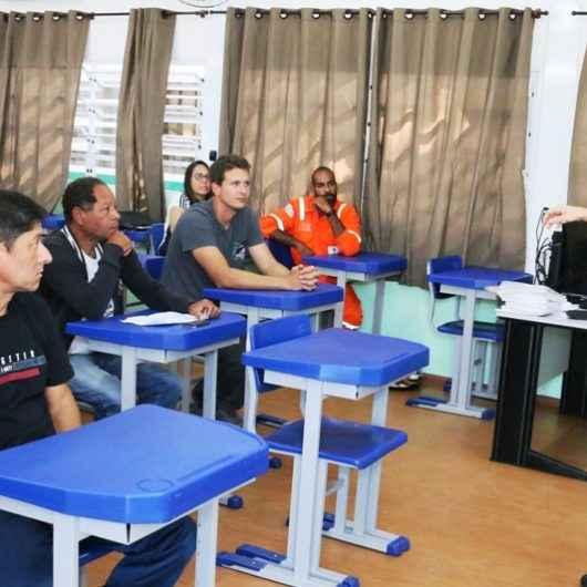 Qualificação: cursos de padaria artesanal e segurança em atividades em altura são iniciados
