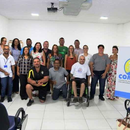 Novos membros do Conselho Municipal da Pessoa com Deficiência tomam posse