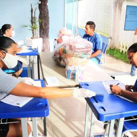 Prefeitura inicia entrega de kit alimentação aos alunos carentes