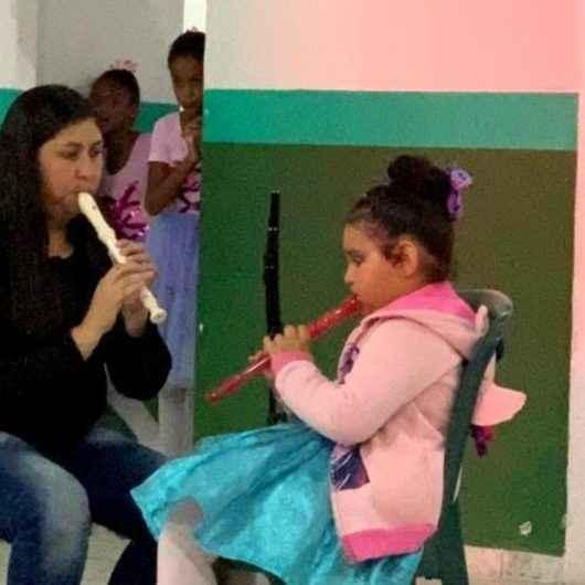 Fundacc abre inscrições para oficina de 'Iniciação Musical com Flauta Doce'