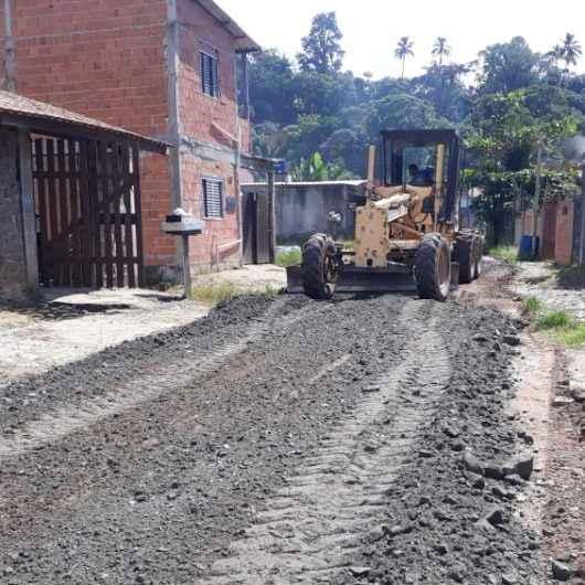 Prefeitura realiza megaoperação no Jardim Santa Rosa (Morro do Chocolate)