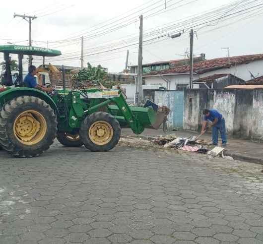 Porto Novo e Jardim Forest recebem Operação Bota-Fora da Prefeitura