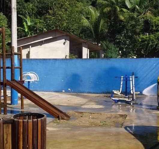 Prefeitura continua com ações de higienização e reforça manutenções em outras regiões da cidade