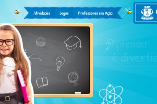 Rede municipal de ensino de Caraguatatuba retoma ano letivo com atividades digitais e impressas