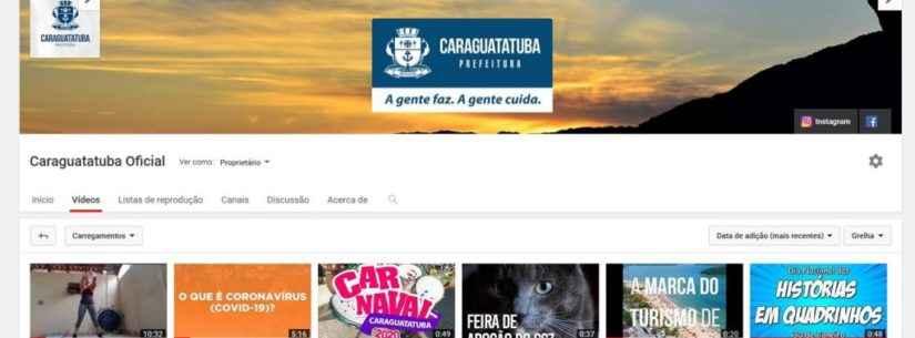 Prefeitura de Caraguatatuba disponibiliza videoaulas esportivas com professores da Secretaria de Esportes