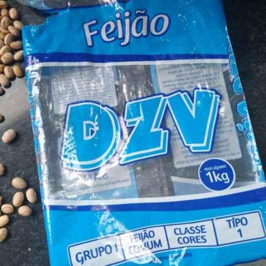 Nota sobre alimento do kit escolar – substituição do feijão