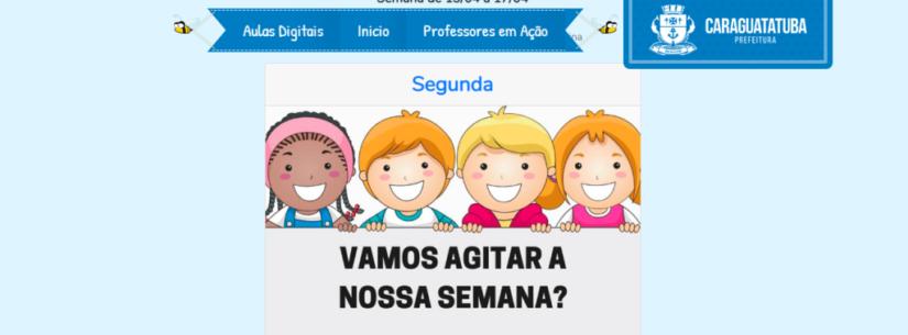 Site educativo da rede municipal de Caraguatatuba disponibiliza novos conteúdos