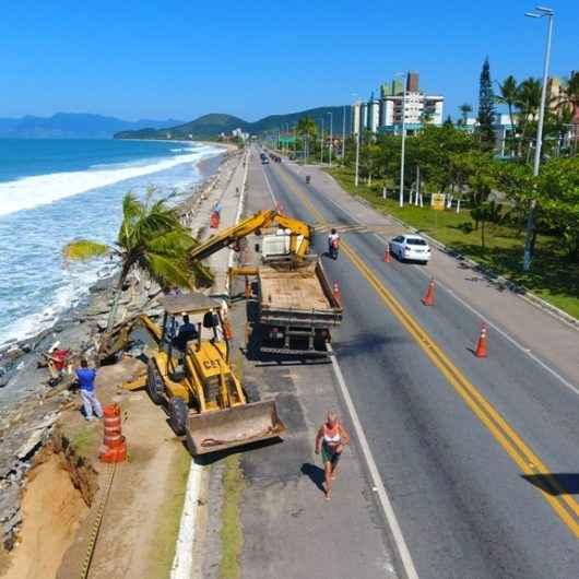 Prefeitura de Caraguatatuba cobra no MPF ações emergenciais do DER na orla da Massaguaçu