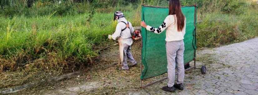 Prefeitura realiza diversos serviços de manutenção nos bairros de Caraguatatuba