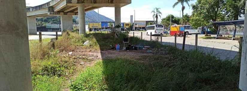 Prefeitura de Caraguatatuba notifica DER para limpeza e fiscalização em viadutos das obras do Contorno