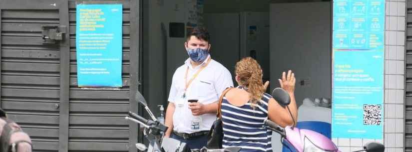 Loja de eletroméstico desrespeita fiscalização da Prefeitura de Caraguatatuba e é notificada