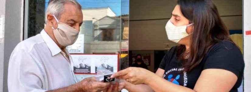Fundo Social de Caraguatatuba inicia entrega de 10 mil máscaras artesanais