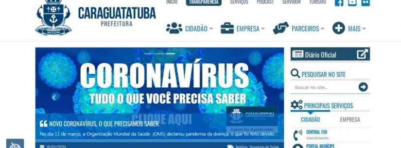 Site da Prefeitura de Caraguatatuba é alvo de hacker