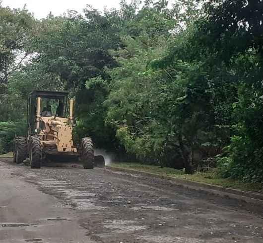 Massaguaçu recebe serviços de nivelamento, prevenção contra enchentes e Bota-fora