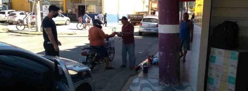 Fiscalização da Prefeitura de Caraguatatuba vistoria 290 comércios no final de semana em função da Covid-19