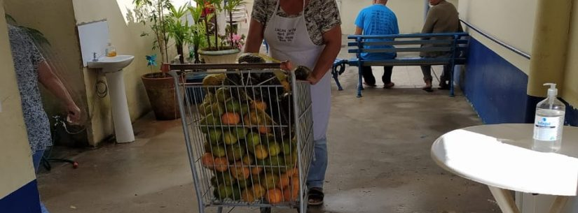 Prefeitura de Caraguatatuba doa a Asilo 130 quilos de produtos apreendidos na Tabatinga