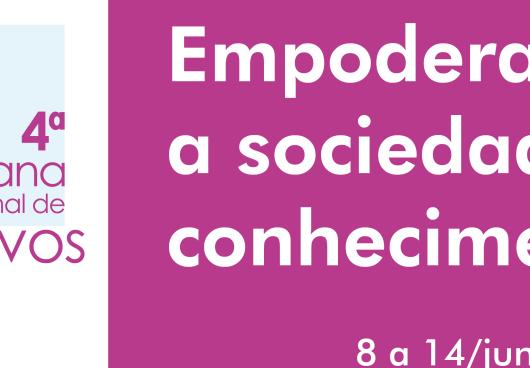 Arquivo Municipal Arino Sant'Ana de Barros participa da 4ª Semana Nacional de Arquivos