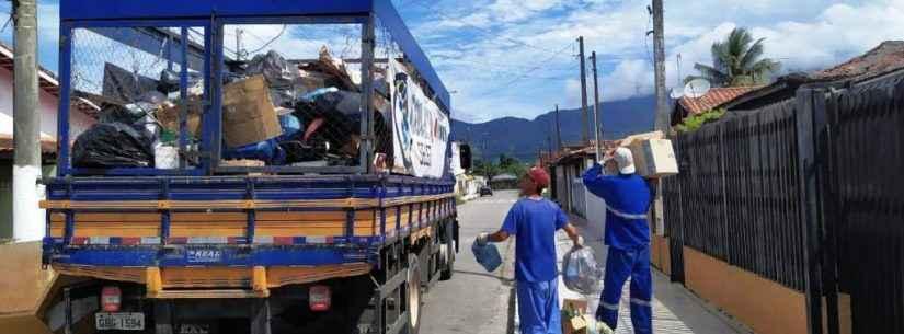Dia do Meio Ambiente: Caraguatatuba reaproveita 250 toneladas de material reciclável por mês