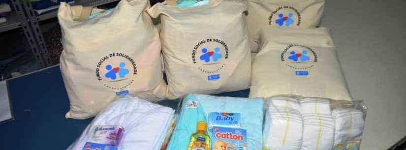 Fundo Social de Caraguatatuba continua com entrega de kit enxoval às gestantes mesmo durante pandemia