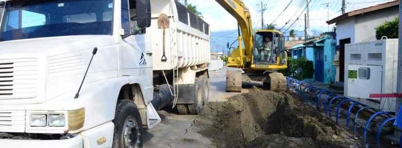 Obras de drenagem e repavimentação no Barranco Alto entram na reta final
