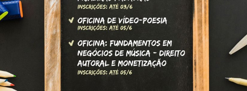 Governo do Estado de São Paulo abre inscrições para Oficina Online de Vídeo-Poesia