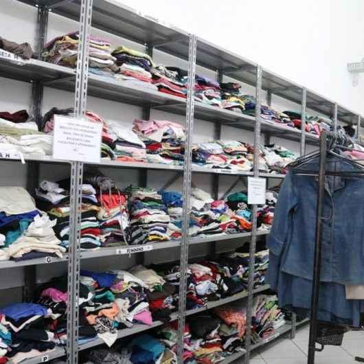 Fundo Social retorna serviço de doação de roupas às famílias em vulnerabilidade social
