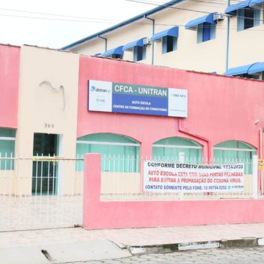 Prefeitura de Caraguatatuba segue protocolo do Detran-SP e libera funcionamento de CFCs