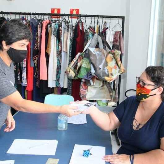 Fundo Social de Caraguatatuba entrega mais de  8 mil máscaras artesanais para população