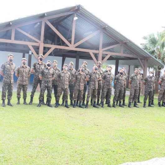 Militares do Exército Brasileiro chegam a Caraguatatuba para ajudar em ações de combate à Covid-19