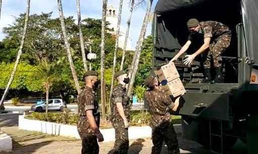 Operação Covid-19: Caraguatatuba recebe apoio social e de serviços públicos do Exército Brasileiro