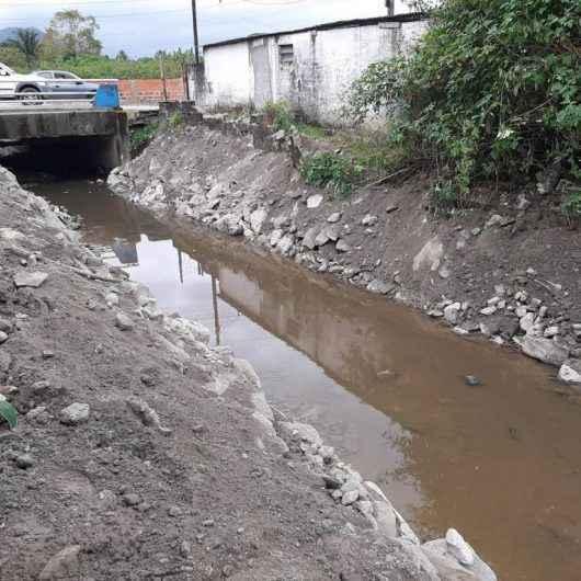 Rio da Paca recebe nova base e ações de limpeza para prevenção de enchentes