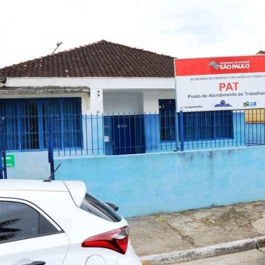 PAT de Caraguatatuba abre 58 vagas de emprego na próxima semana
