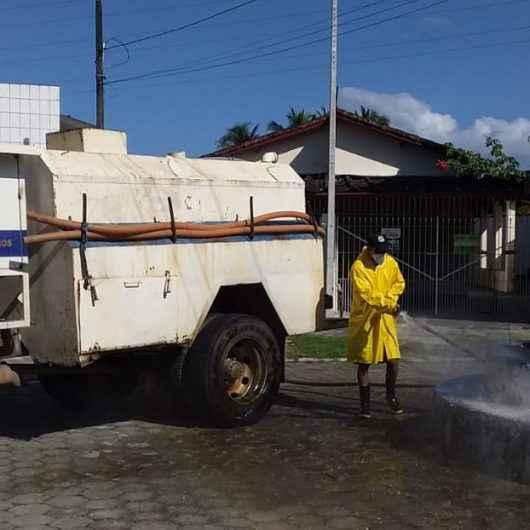 Covid-19: Prefeitura realiza higienização de espaços e vias públicas há 120 dias