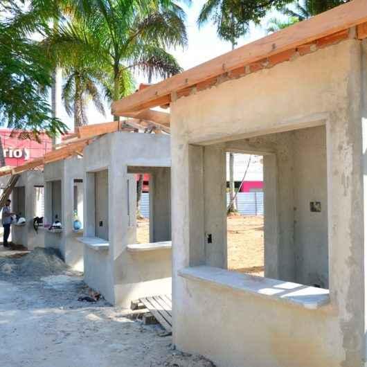 Prefeitura de Caraguatatuba atende artesãos e revitaliza praças e cria mais espaços para artesanato