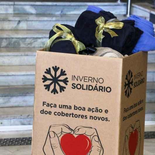 """Lojas do comércio aderem à Campanha """"Inverno Solidário"""" Do Fundo Social de Solidariedade de Caraguatatuba"""