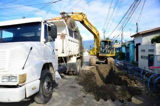 Caraguatatuba investe mais de R$ 60 milhões em obras de água e esgoto