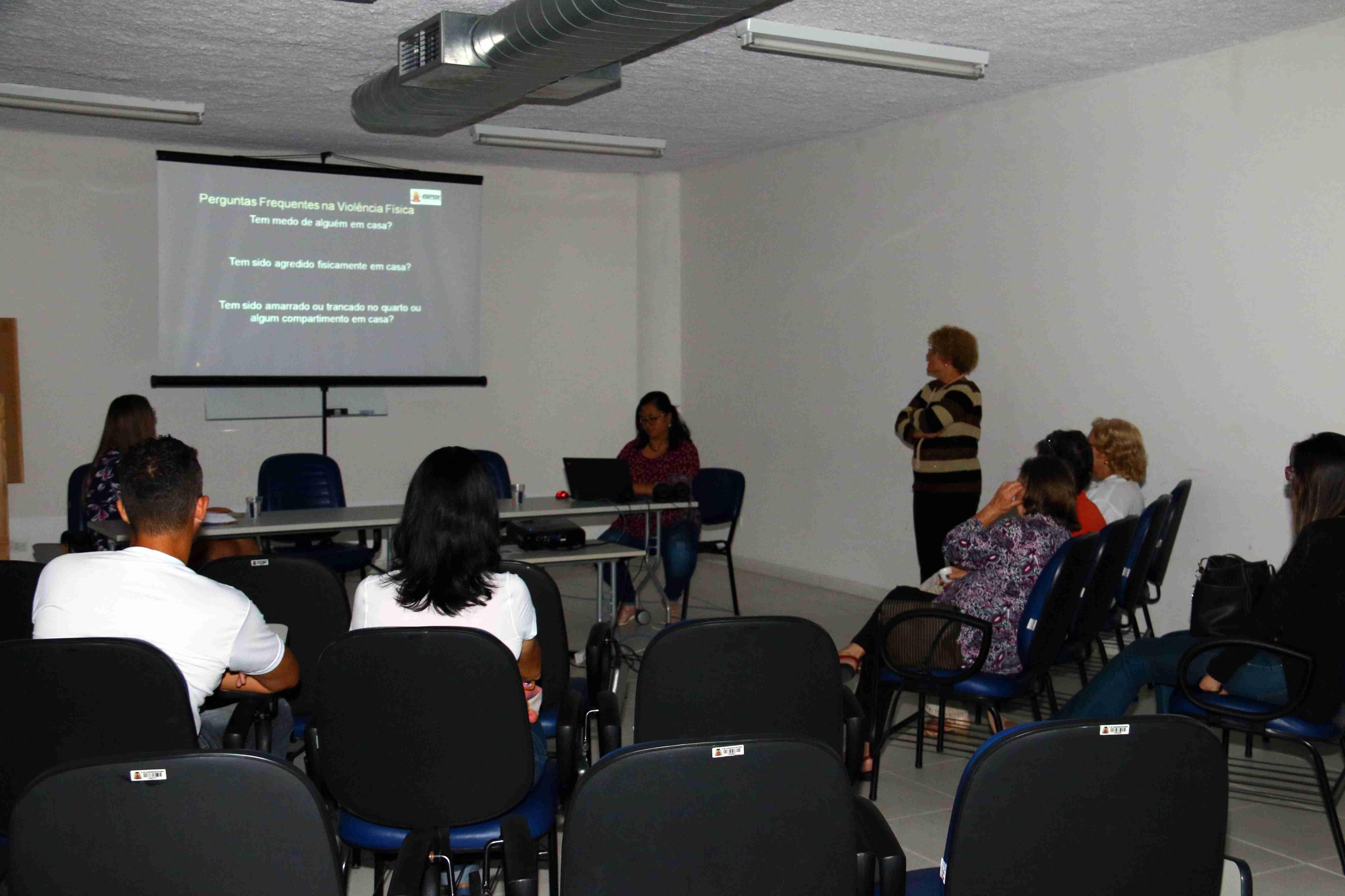 Sepedi promove discussão sobre violência contra a pessoa idosa (Foto: Gustavo Grunewald/PMC)