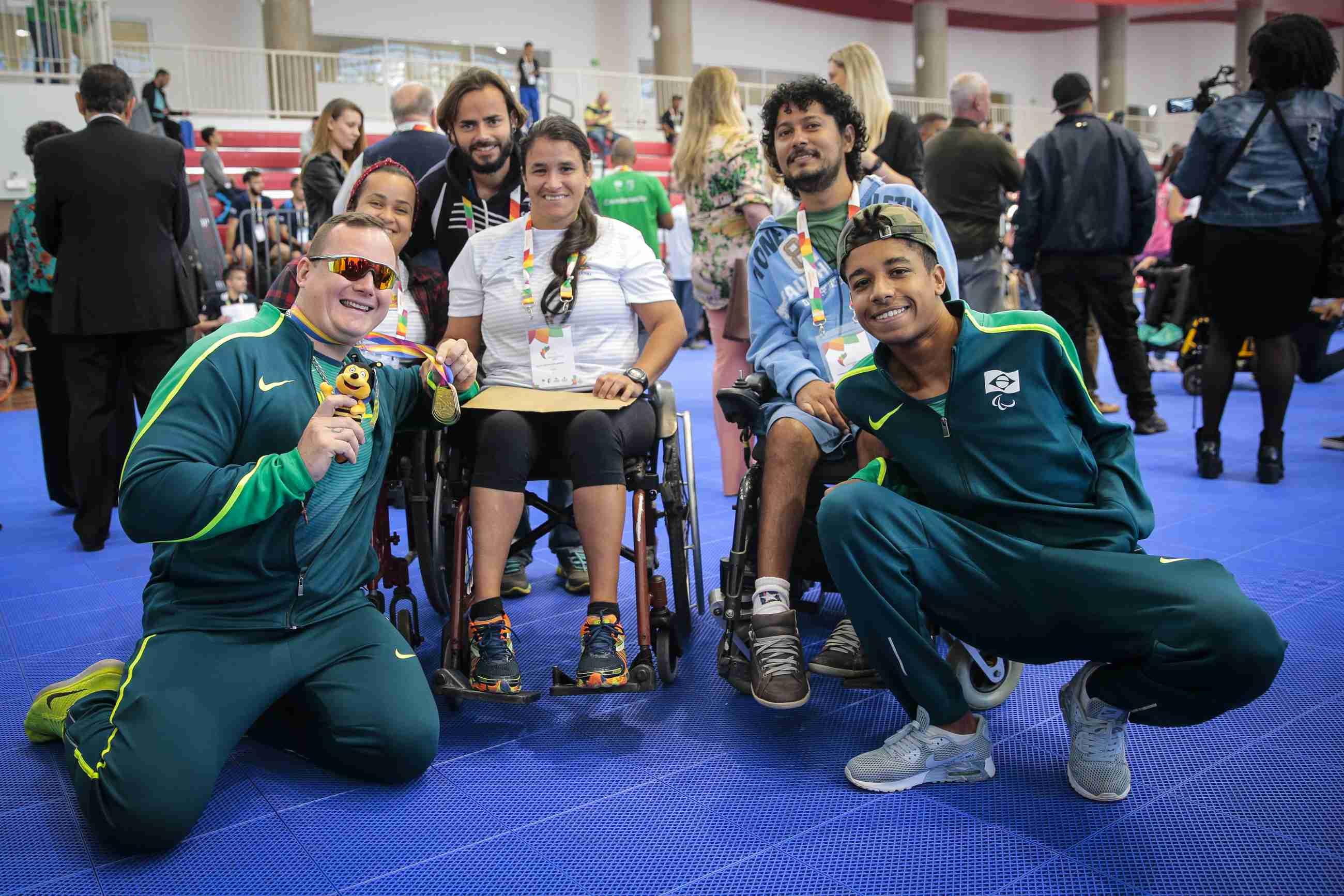 27/07/2017 - Jogos Paralímpicos Universitários - Cerimonia de abertura