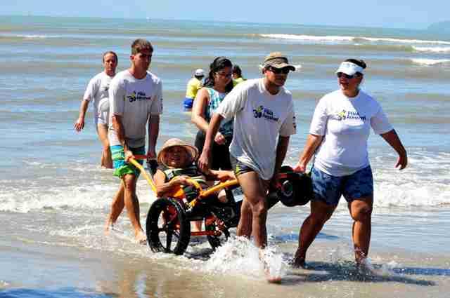 """Praia Acessível - chegaem Caragua (6)"