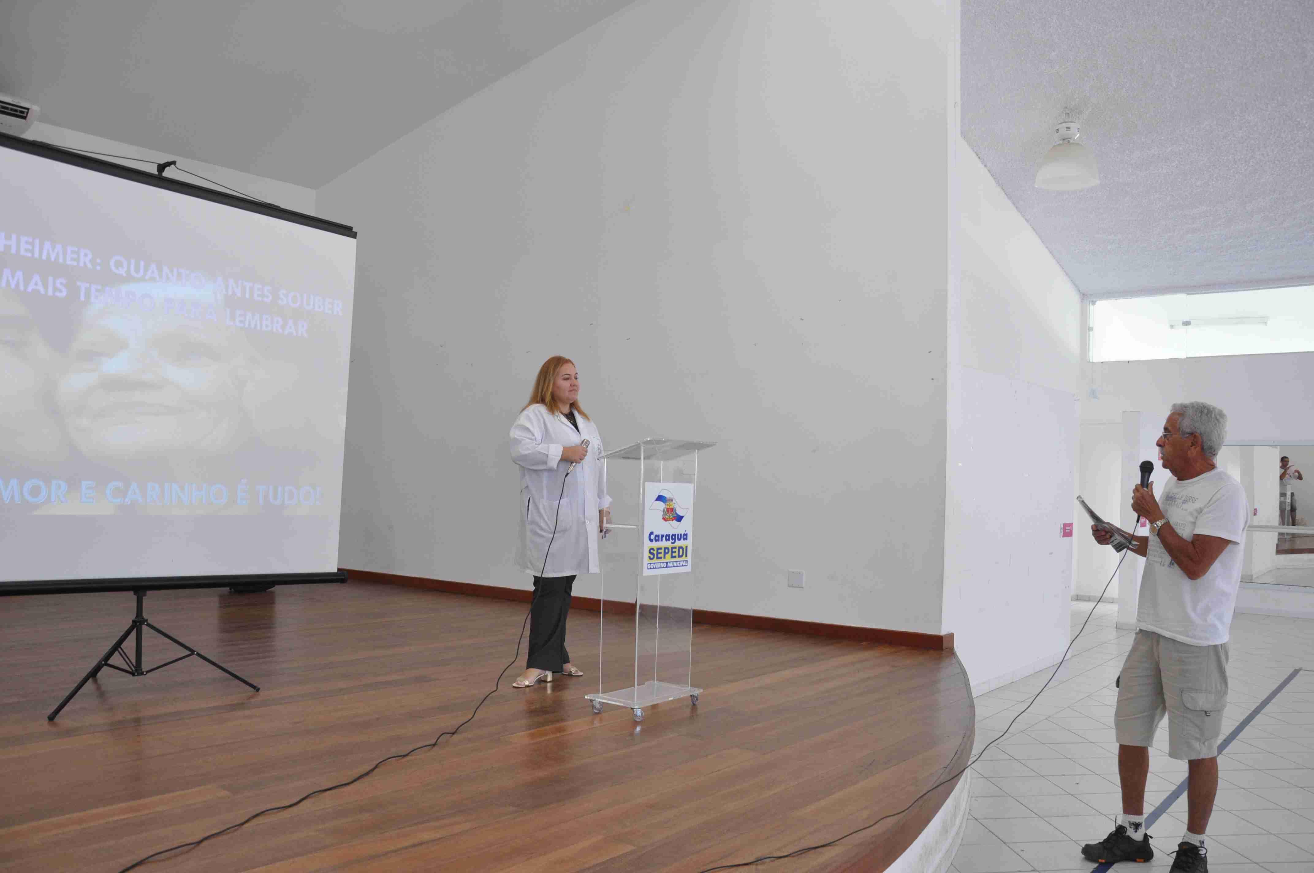 Prefeitura promove palestras sobre prevenção ao Alzheimer