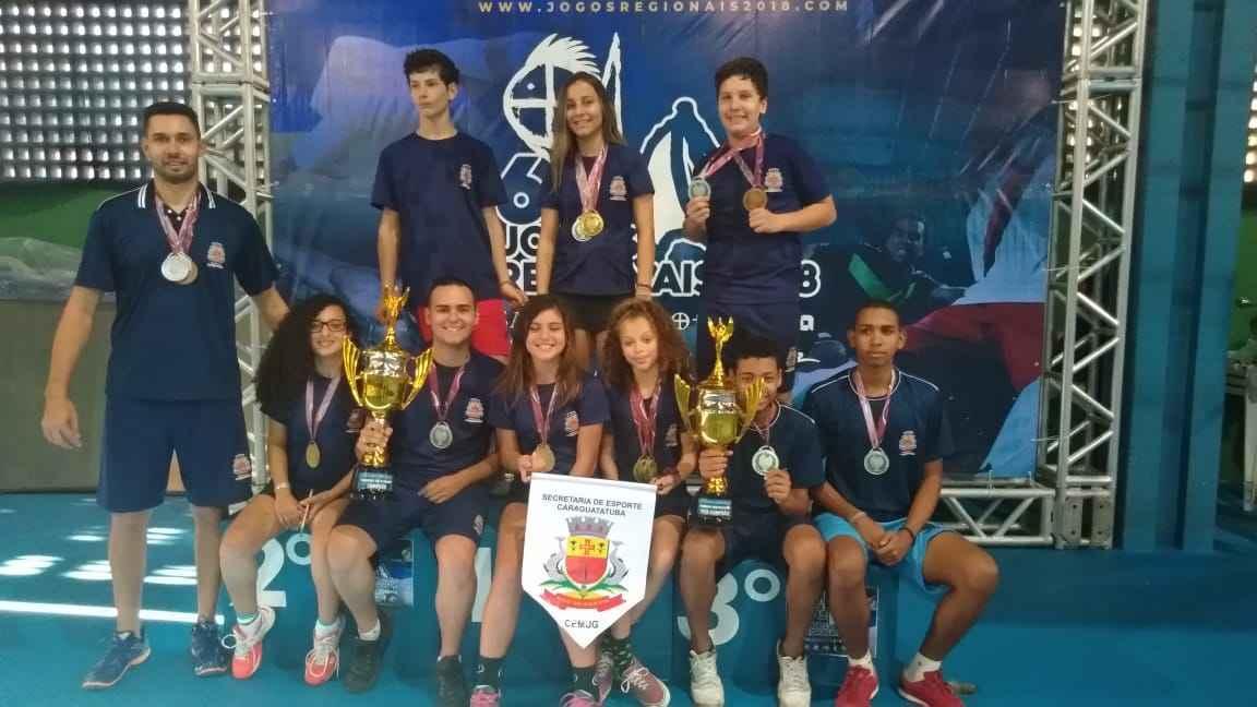 9c6767a3fc Caraguatatuba está em segundo lugar nos Jogos Regionais 2018 ...