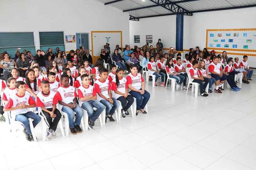 EMEF do Jetuba forma novas turmas de alunos no Proerd