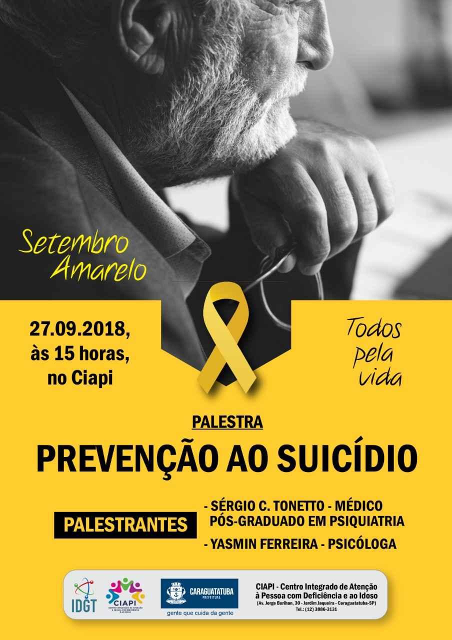 09_25 Prefeitura de Caraguatatuba promove palestra sobre Prevenção ao Suicídio