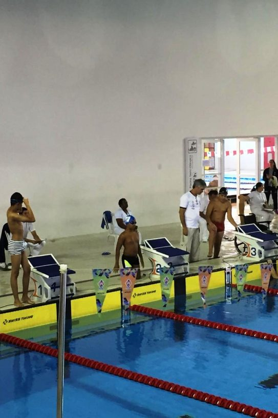 Natação ACD de Caraguatatuba fatura três medalhas de ouro nos Jogos Escolares Estadual