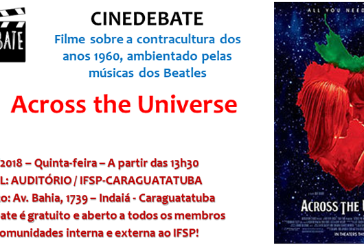 11_14 IFSP promove cinedebate sobre Across the Universe