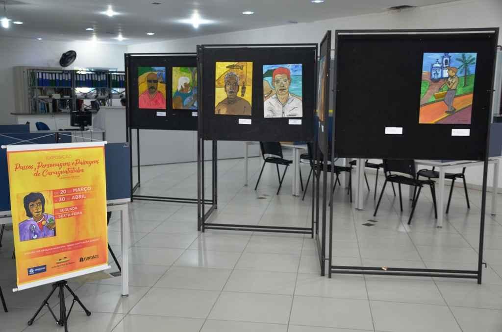 De pintor de parede a artista de renome, Arnaldo Passos, retrata personagens em exposição no Arquivo Municipal