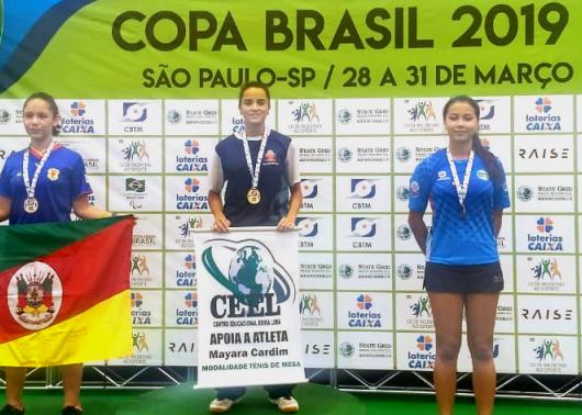 Mesatenistas de Caraguatatuba são destaque na I Etapa da Copa do Brasil