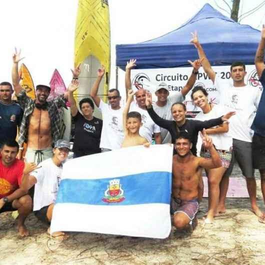 Caraguatatuba ganha 2° lugar no Circuito Waveski na categoria adaptado