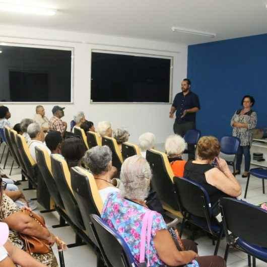 Procon de Caraguatatuba realiza palestra sobre vendas abusivas para idosos no CCTI Estrela do Mar