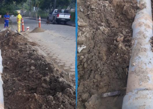 Prefeitura cria nova rede de drenagem no bairro Jardim Jaqueira